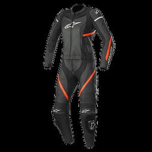 Leren motorpak / Leather suit